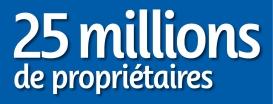 25 Millions de Propriétaires